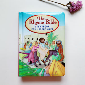 Rhyme Bible Storybook for Little Ones