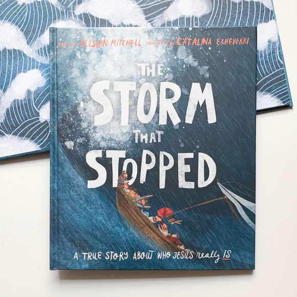 The Storm That Stopped: A True Story About Who Jesus Really Is - tiny-seeds-bookshop-christian-books-for-kids