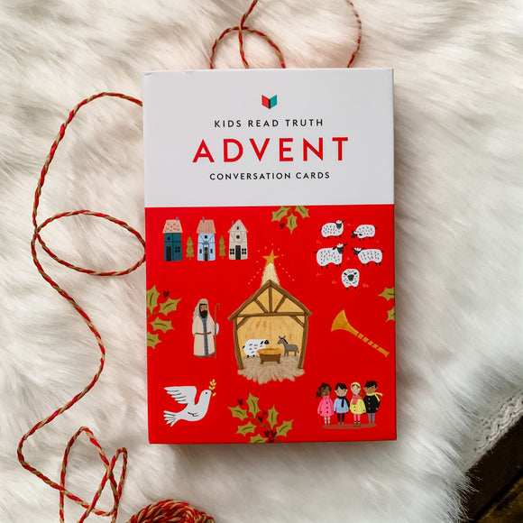 Advent Conversation Cards by Kids Read Truth