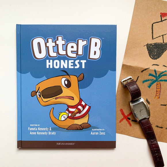 Otter B Honest - tiny-seeds-bookshop-christian-books-for-kids