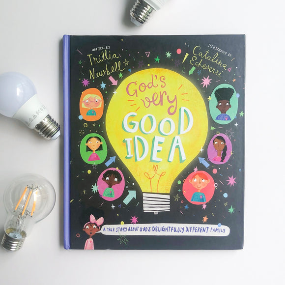 God's Very Good Idea: A True Story of God's Delightfully Different Family - tiny-seeds-bookshop-christian-books-for-kids