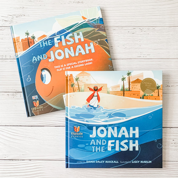 Jonah and the Fish/The Fish and Jonah (Flipside Stories)