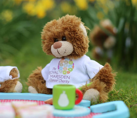 The Royal Marsden Cancer Charity bear