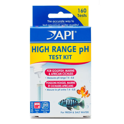 API® High Range pH Test Kit - Wet Habitat