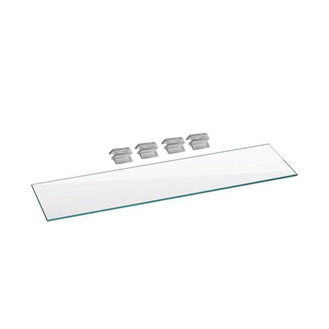 Aquatop Glass Lid and Mounting Clips 22.8 x 3.9 inches