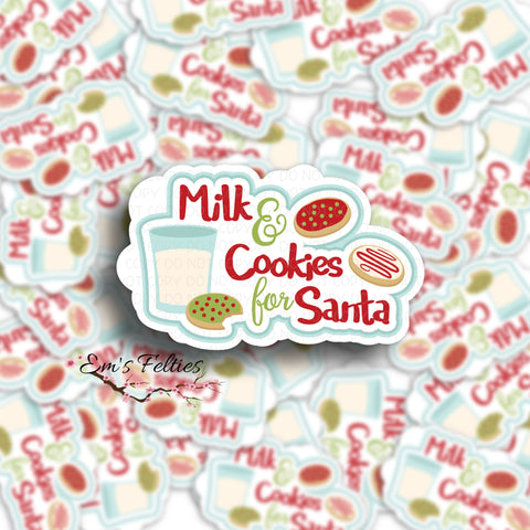 Cookies For Santa Stickers