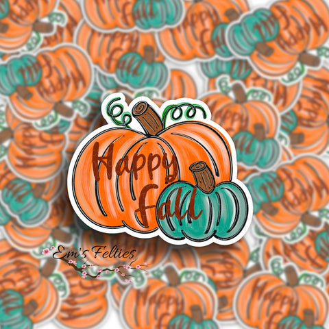 Happy Fall Stickers