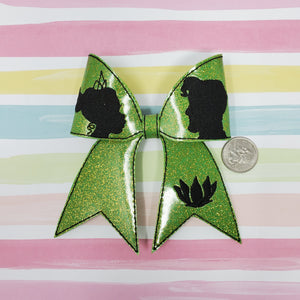 4in Tiana Cheer Bow