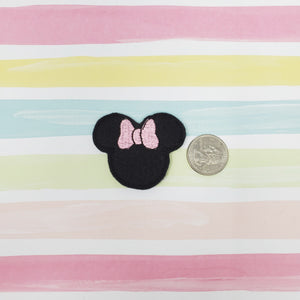 RTS Miss Mouse Pink Bow Feltie 2in