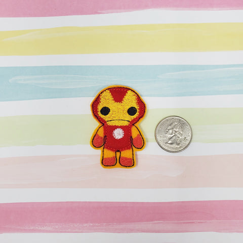 RTS Iron Man Full Body Feltie 2in
