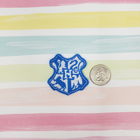 RTS House Crest Blue HP Feltie 1.75in