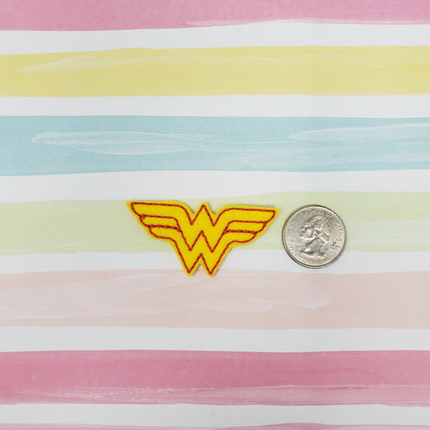 RTS Wonder Woman Logo Feltie 2.19in