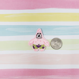 RTS Patrick Star Feltie 1.76in