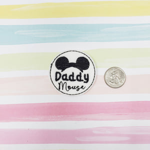 RTS Daddy Mouse Feltie 2in