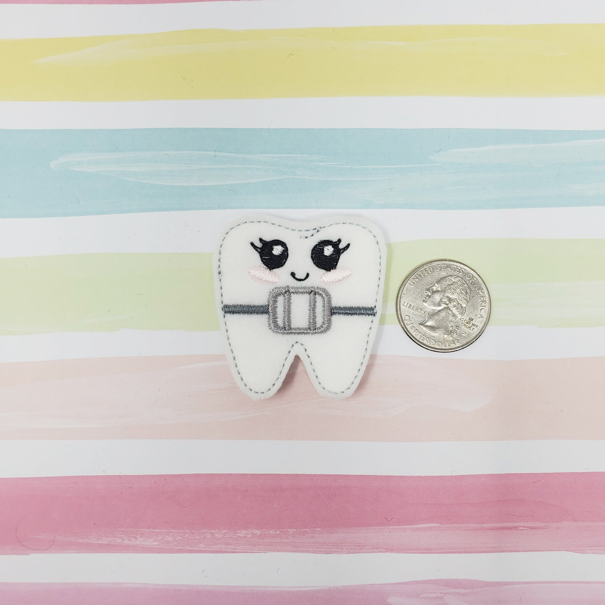 RTS Braces Tooth Feltie 1.74in