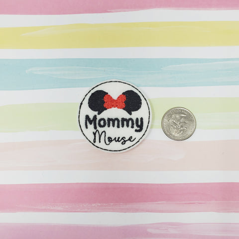 RTS Mommy Mouse Feltie 2in