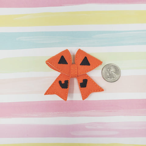 RTS 2.75in Pumpkin Bow