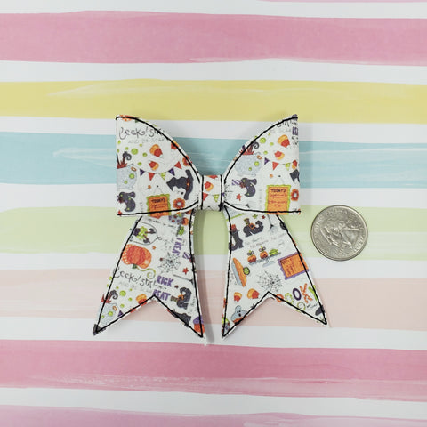 RTS 3in Halloween Spooky Cheer Bow Kit