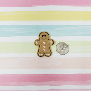 RTS Gingerbread Person Feltie 1.75in