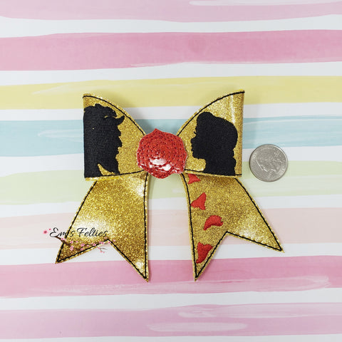 4in Belle Cheer Bow Kit
