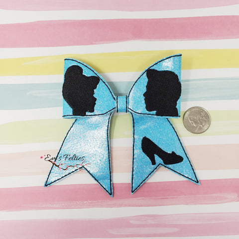 4in Cinderella Cheer Bow Kit