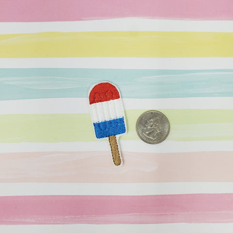 Patriotic Popsicle Feltie 2in