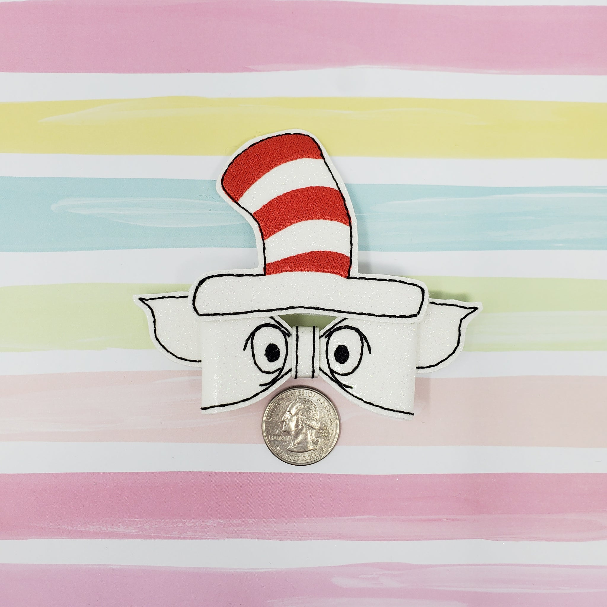4in Cat in the Hat Bow Kit