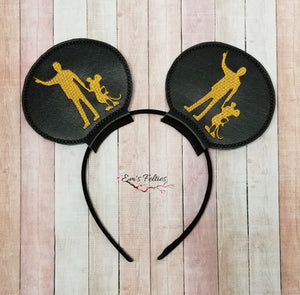 RTS Mickey and Walt Mouse Ear Sliders