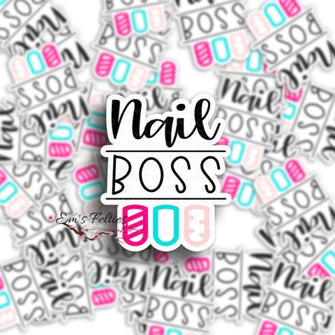 Nail Boss Stickers