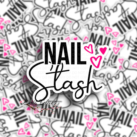 Nail Stash Stickers