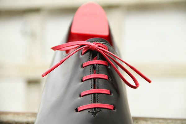 Flat Waxed Dress Shoe Laces 10 for £35