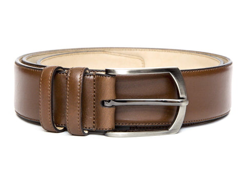 J.FitzPatrick Footwear - Leather Belt - Caramel Calf