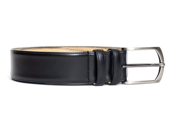 Leather Belt - Black Calf
