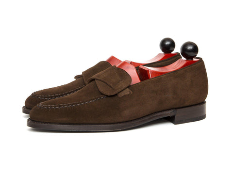 J.FitzPatrick Footwear - Hawthorne - Dark Brown Suede - Clearance