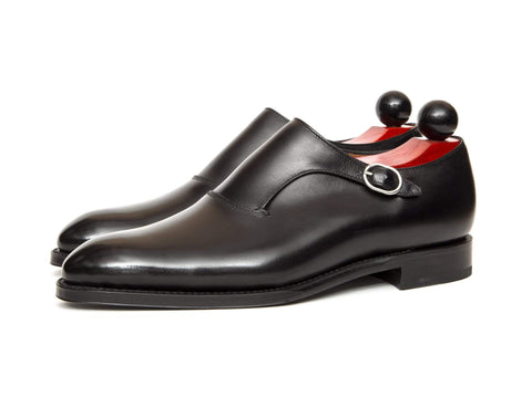 J.FitzPatrick Footwear - Madrona - Black Calf - Clearance