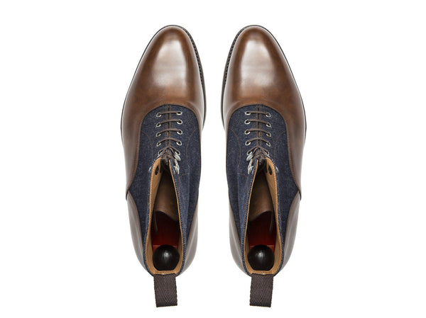 Wedgwood - Copper Museum Calf/Denim