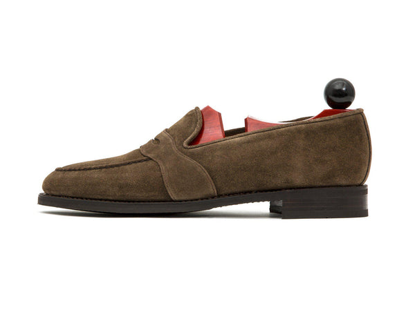 J.FitzPatrick Footwear - Madison - Taupe Suede - City Rubber Sole - TMG Last