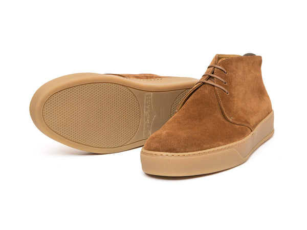 J.FitzPatrick Footwear - Anacortes - Snuff Suede / Gum Rubber Sole - CLEARANCE