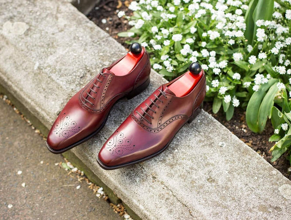 Wallingford ll - Burgundy Calf