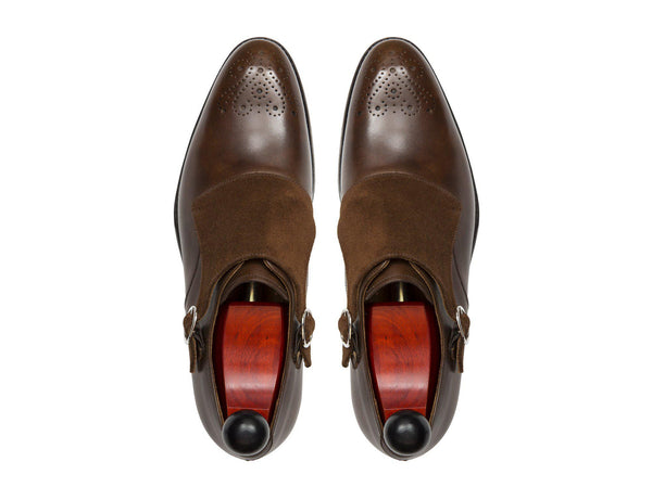 J.FitzPatrick Footwear - Corliss - Copper Museum / Snuff Suede - NGT Last
