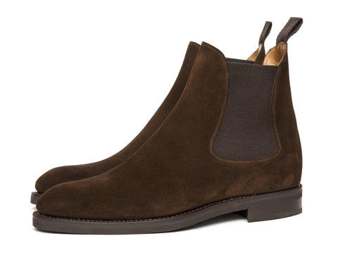 Alki - Dark Brown Suede-J.FitzPatrick Footwear