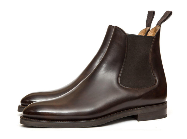 J.FitzPatrick Footwear - Alki - Dark Brown Museum Calf