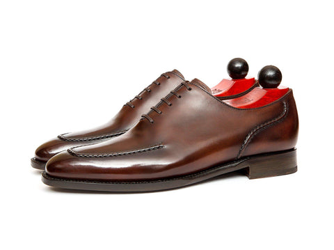 J.FitzPatrick Footwear - Whittier - Shaded Brown Calf