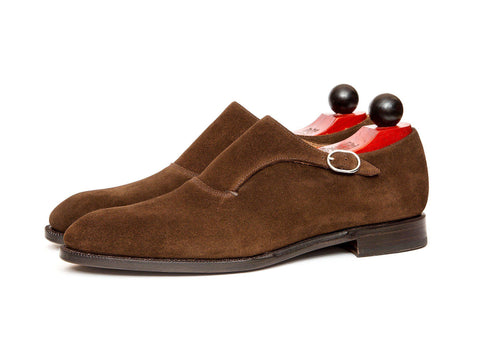 J.FitzPatrick Footwear - Madrona - Dark Brown Suede - Clearance