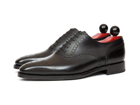J.FitzPatrick Footwear - Wallingford ll - Black Calf