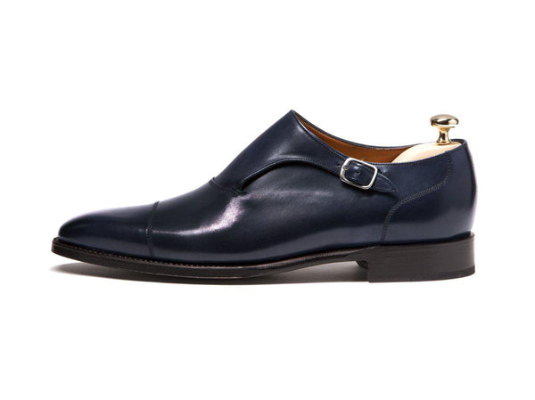 J.FitzPatrick Footwear - Fauntleroy - Shaded Navy Calf - LPB Last