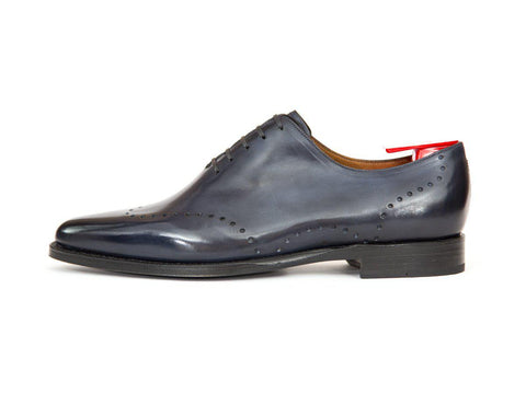 J.FitzPatrick Footwear - Tony - Shaded Navy Calf - JKF Last