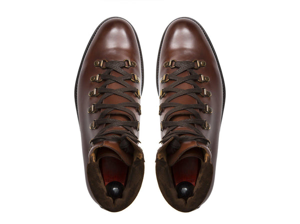 J.FitzPatrick Footwear - Snoqualmie - Cedar Calf - NJF Last - Double Leather Sole