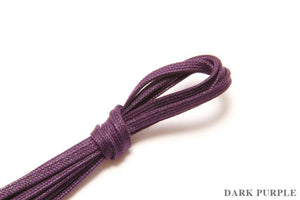 J.FitzPatrick Footwear - Flat Waxed Dress Shoe Laces - Dark Purple