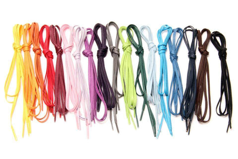 Flat Waxed Dress Shoe Laces 5 for 4